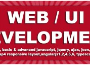 Classroom web ui technologies training course