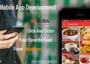 Inglobal food app development company in bangalore