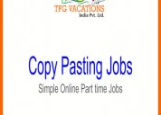 Part/full time jobs for fresher/student only want