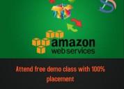 Amazon web services training in marathahalli
