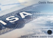 Oasis resource management work permit visa consult
