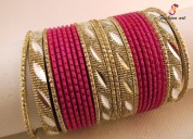 Gemstone set bangles manufacturers
