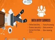 Online data entry services in india