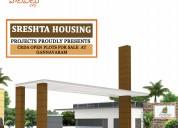 Harivillu offering residential plots for sale in g