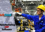 Cloud erp software for manufacturing industries