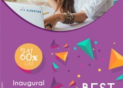 Inaugural offer! flat 60% off on cad - catia, creo