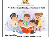 Pre-school franchise opportunities in delhi