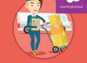 Courier management software solution