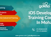 Ios development training in mohali, chandigarh & p