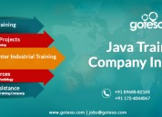 Java development training in mohali, chandigarh &