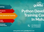 Python development training in mohali, chandigarh