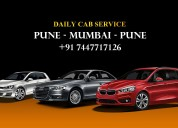 Best affordable pune to mumbai cab