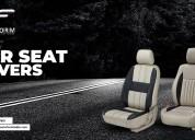 Car seat cover designs india