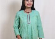 Avail best of deals on cotton kurtas