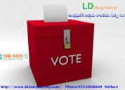 Voting poll research process in telangana
