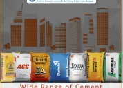 buy top brand cement online at econstructionmart