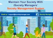 Isociety managers' society management system