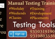 Join the best  manual testing training in delhi