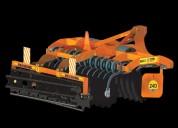 High speed disc harrow agriculture machine