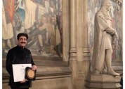 Sandeep marwah honored at parliament of united kin