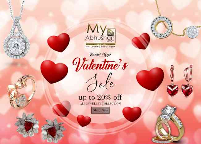 Valentine's Day Jewellery Sale | Fantastic Offers