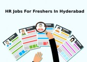 Hr jobs for freshers in hyderabad