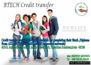 Credit transfer for b tech students