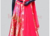 Bridal lehenga buy indian silk house
