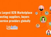 Bizbilla - list your products in bizbilla and reac