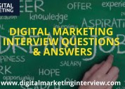 Digital marketing interview preparation