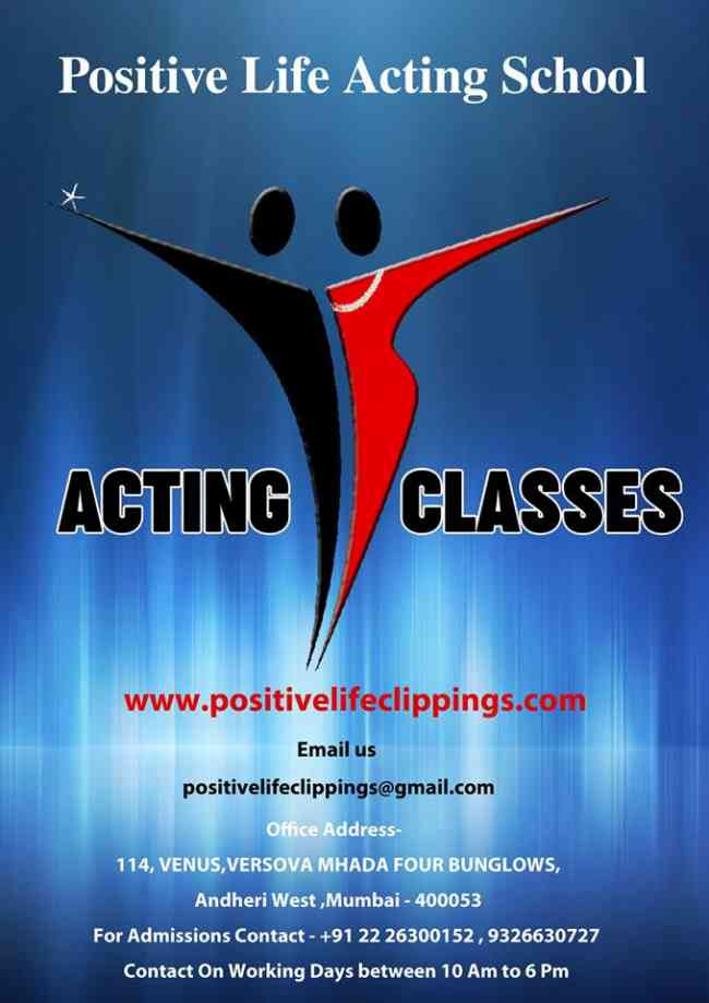Best Acting School in Mumbai|Positive Life Acting