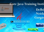 Core & advanced java training course in delhi