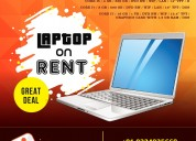 Laptop rental basis in mumbai and navi mumbai
