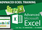 Best advanced excel training course in delhi
