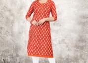 Buy designer kurtis |  ladies printed kurtis