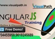 Best angular js training in hyderabad - visualpath