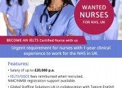 Nursing jobs in uk nhs