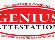B.tech certificate legalization for uae