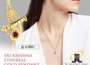 Om In Gold Bracelet With Diamonds