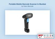 Portable mobile barcode scanner in mumbai.