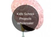 Kids school projects wholesaler