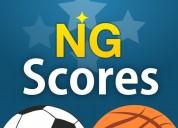Livescore website launches outstanding app