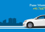 Pune to mumbai sharing cab at affordable cost