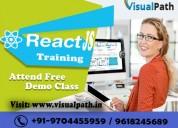 React js online training | react js certification