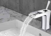 Bathroom faucets for sink, shower head and bathtu