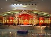 Wedding stage decoration in hyderabad