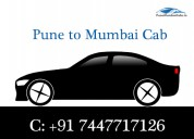 Pune to mumbai taxi shared at affordable rates