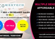 Increase sales with our seo at affordable price