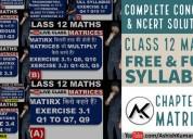 Matrices class 12 maths  - ashish kumar let's lear