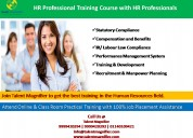 Hr training and development course in delhi